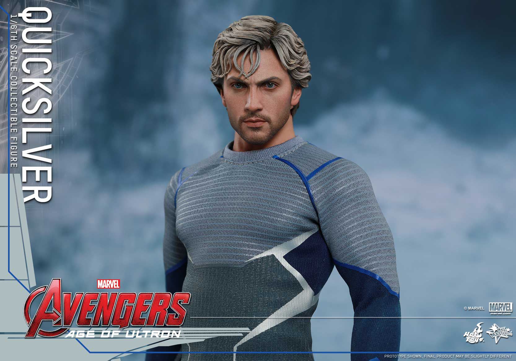 [Hot Toys] The Avengers: Age of Ultron - Quicksilver Up_13