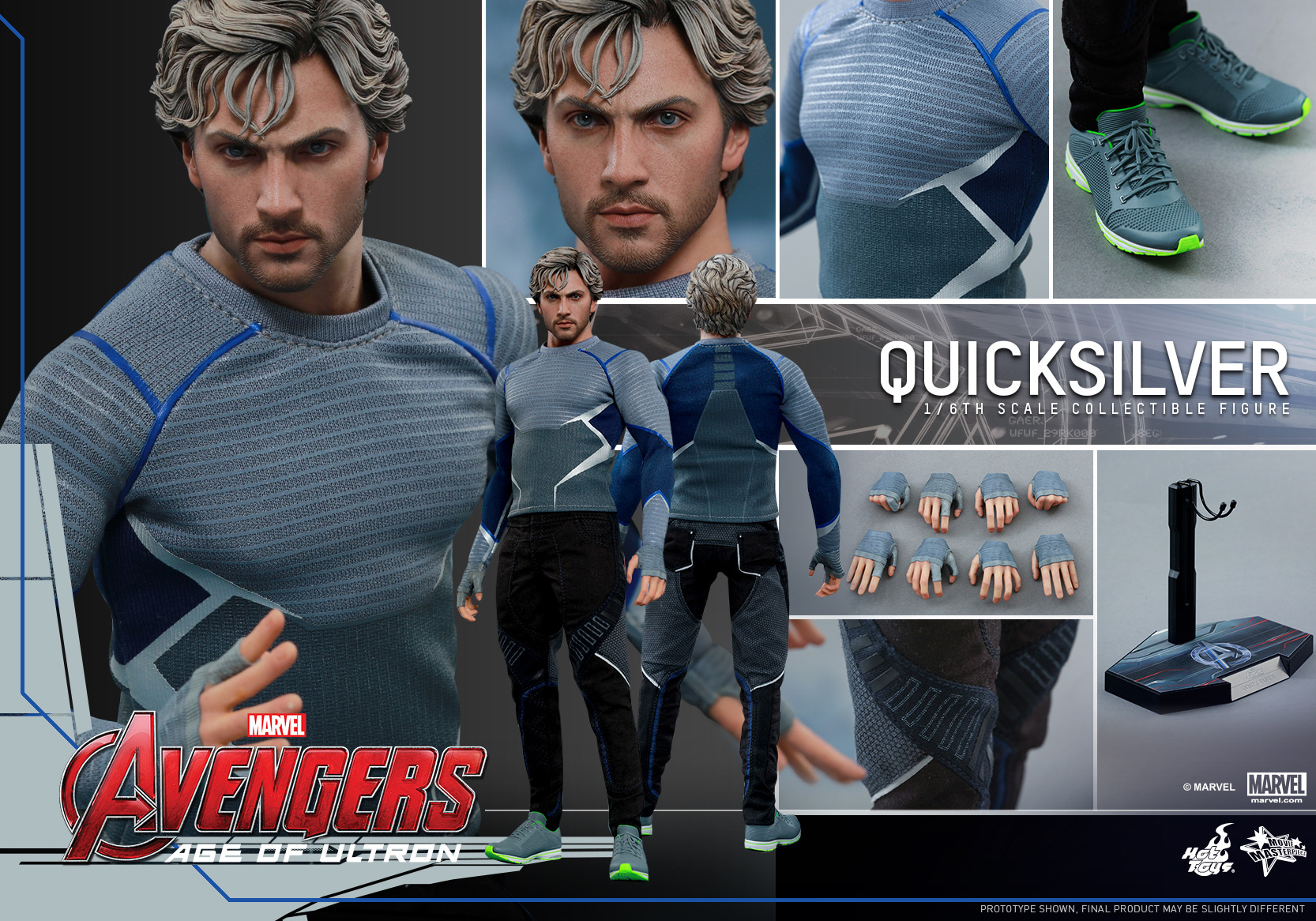 [Hot Toys] The Avengers: Age of Ultron - Quicksilver Up_15