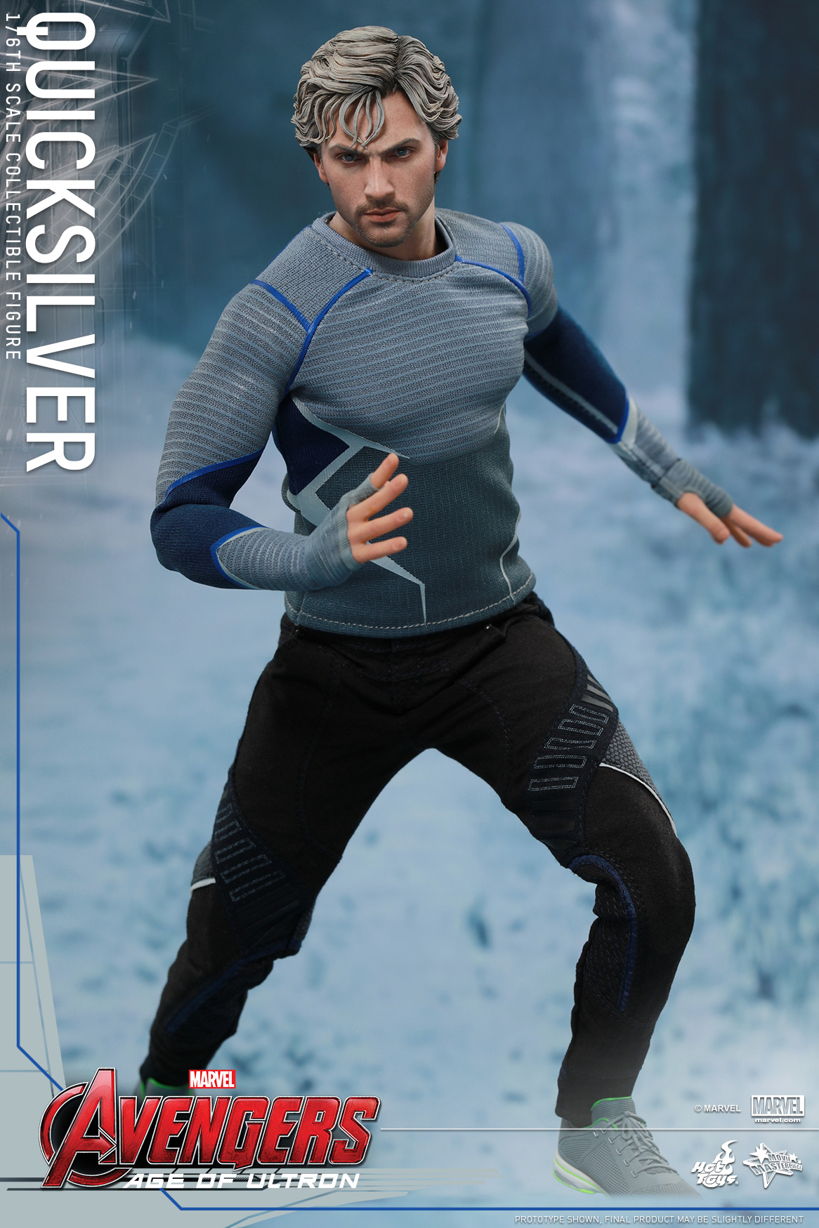 [Hot Toys] The Avengers: Age of Ultron - Quicksilver Up_2