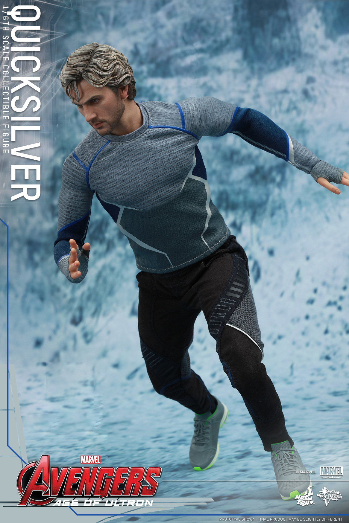 [Hot Toys] The Avengers: Age of Ultron - Quicksilver Up_3