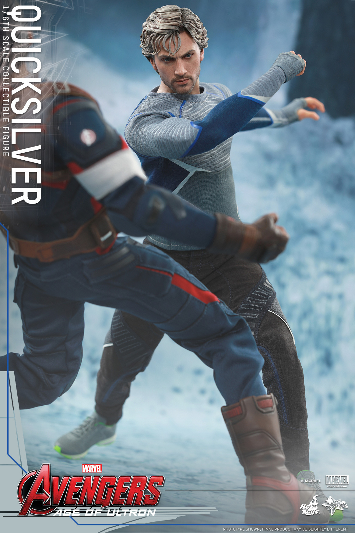[Hot Toys] The Avengers: Age of Ultron - Quicksilver Up_4
