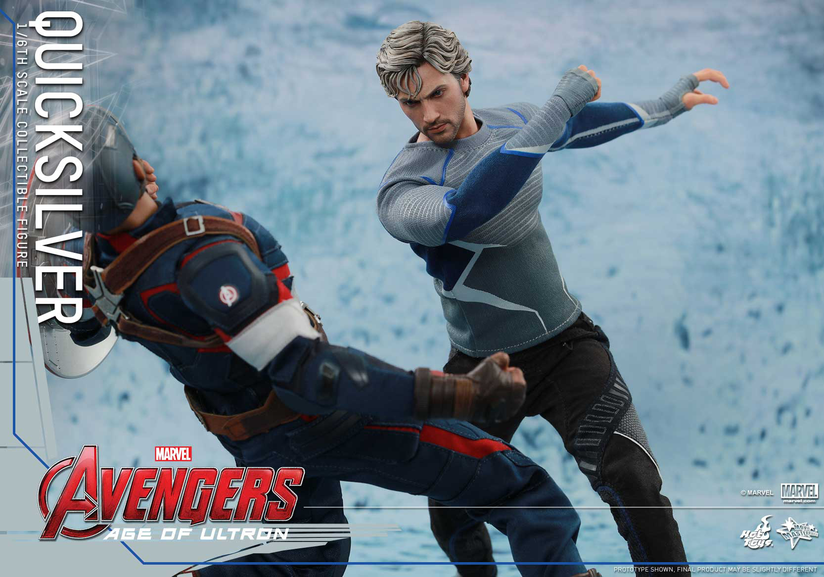[Hot Toys] The Avengers: Age of Ultron - Quicksilver Up_5