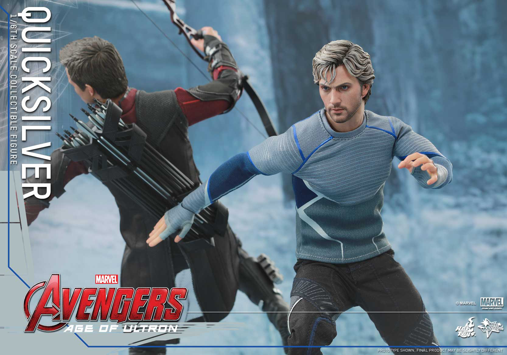 [Hot Toys] The Avengers: Age of Ultron - Quicksilver Up_6
