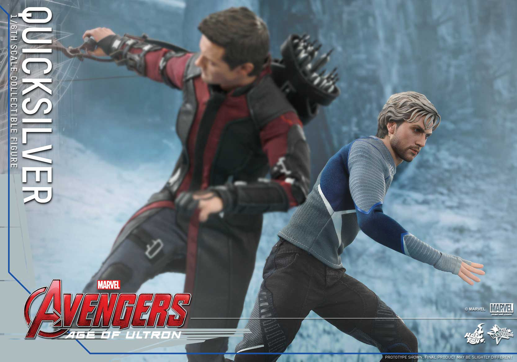 [Hot Toys] The Avengers: Age of Ultron - Quicksilver Up_7