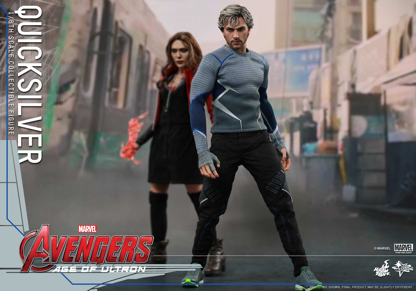 [Hot Toys] The Avengers: Age of Ultron - Quicksilver Up_9