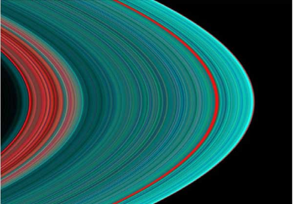 PLANETE I SATELITI - Page 2 Saturn-rings-false-color-01a