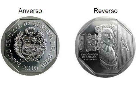 Perú, colección de monedas de 1 nuevo sol Moneda1