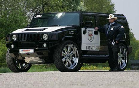Siêu xe của cảnh sát các nước trên thế giới vs VietNam!! HummerH2Sheriff