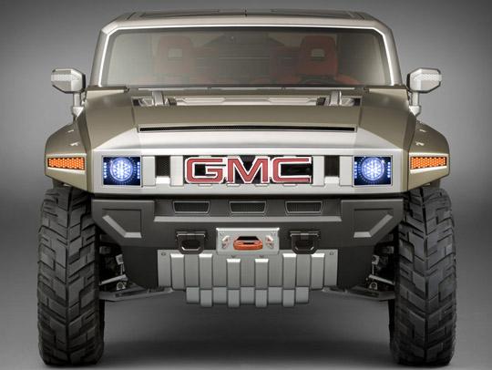 GMC va peut-être faire renaître un genre de Hummer ? GMCHUMMERHX