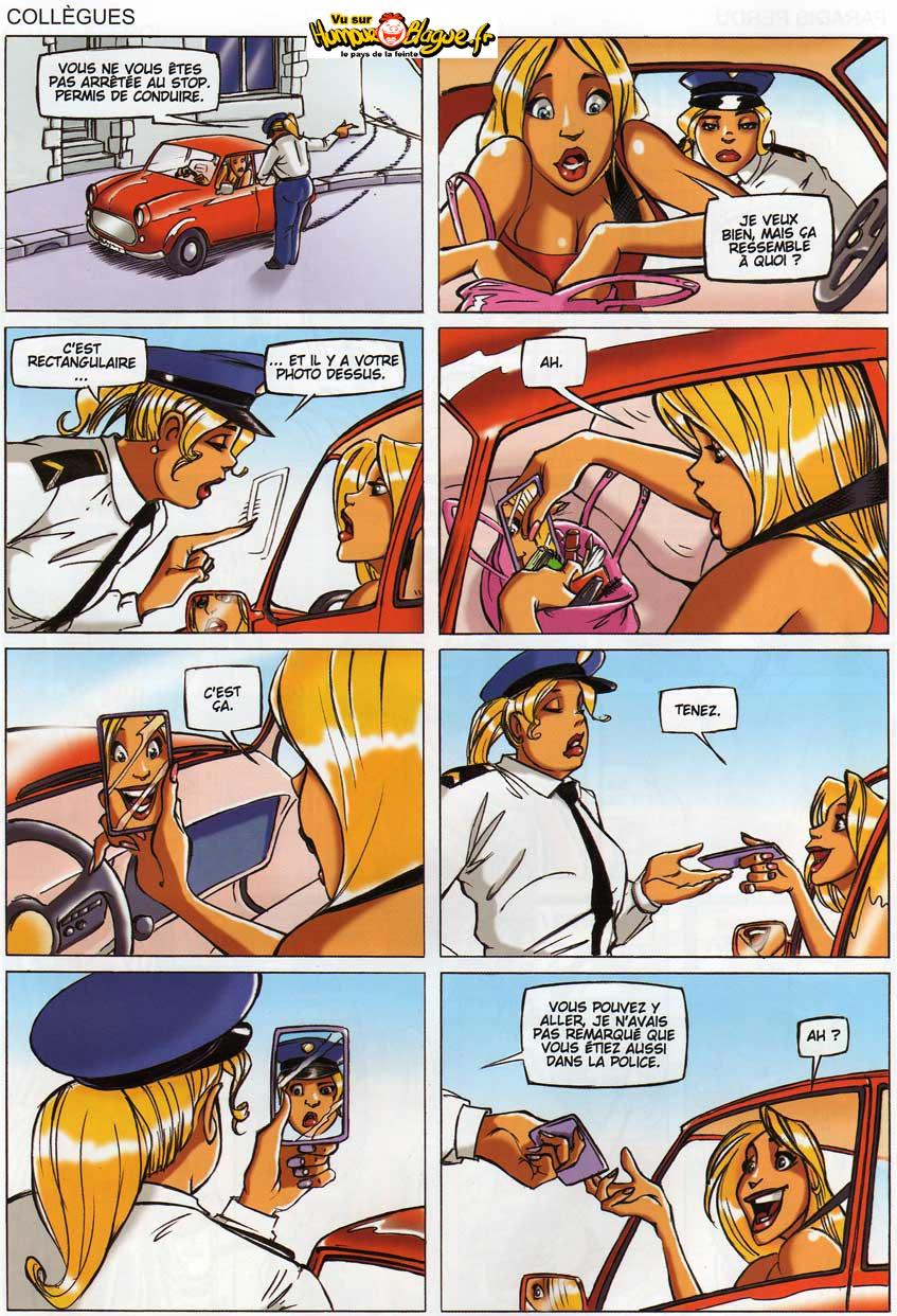 Les images Permis-blonde
