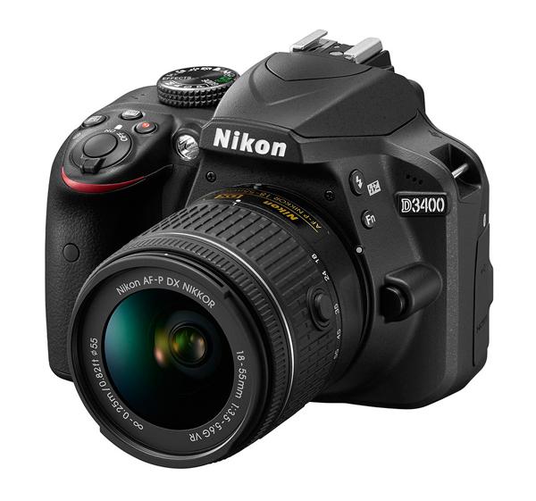 Nikon - Nikon D3400  Nikon_d3400_600