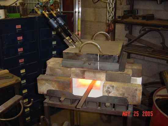 fabriquer mes fours Twoburnerforge