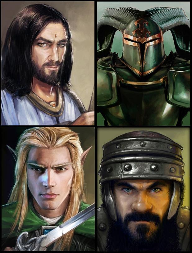 Dungeon kingdom: un dungeon crawler à la Dungeon Master / EoB Portraits_2