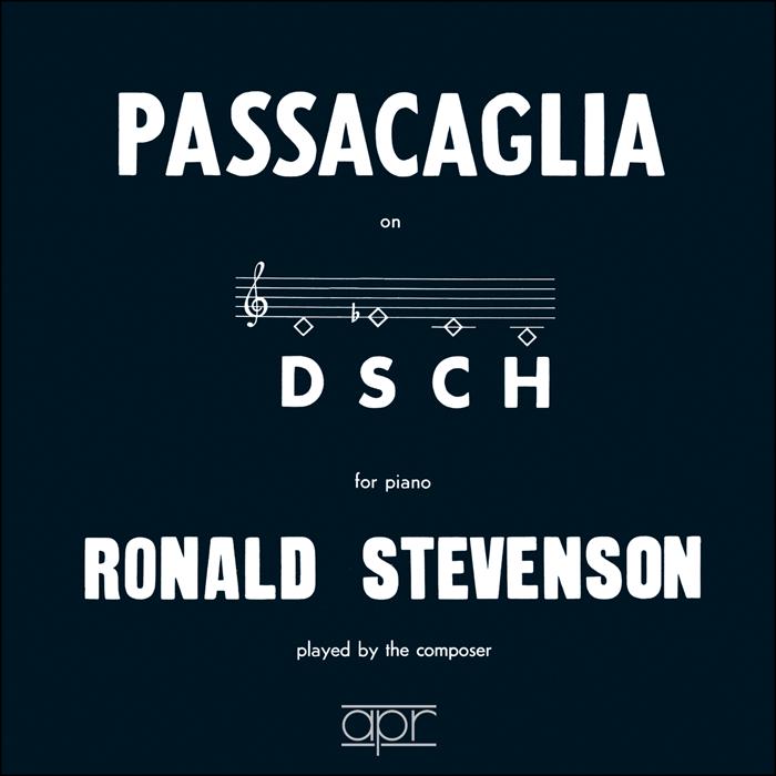 Ronald Stevenson (1928 - ...) 5024709156504