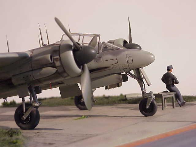 Revell-Monogram Focke-Wulf TA154A-0 Moskito Ta154c25