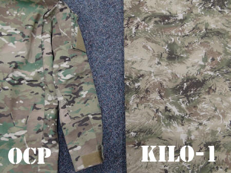 Afghanistan Partner Unit (APU) issued the Ghostex Kilo-1 Pattern OCP-vs-Kilo1