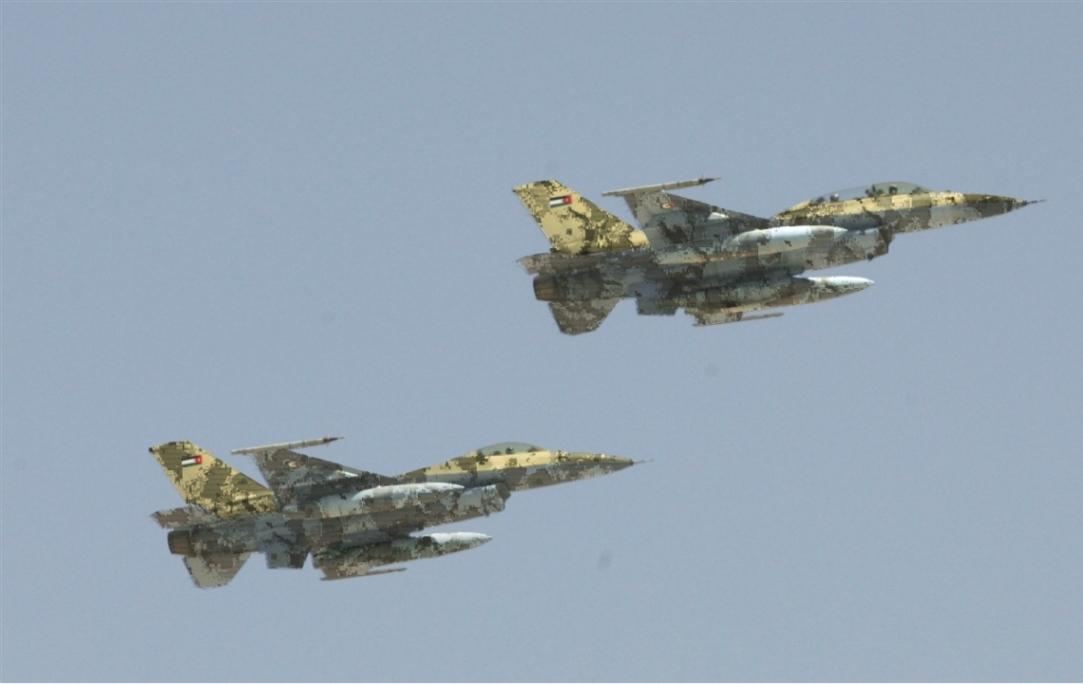 طائرات مقاتلة متعددة المهام Jordan-F-16-KA2-AG