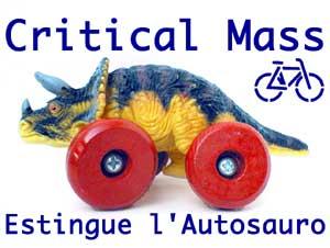 Critical Mass International/National Poster & Flyer AutosSM