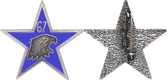 67e BCA : insigne de la SES Ch20671500