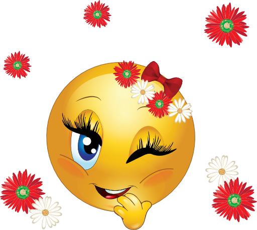 سمايلات ضحك متحركة  Clipart-flowery-smiley-emoticon-512x512-3ca3