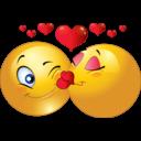 Qu'attendez-vous d'une relation amoureuse ? - Les questions qui fâchent - Page 3 Clipart-kissing-couple-smiley-emoticon-bce0