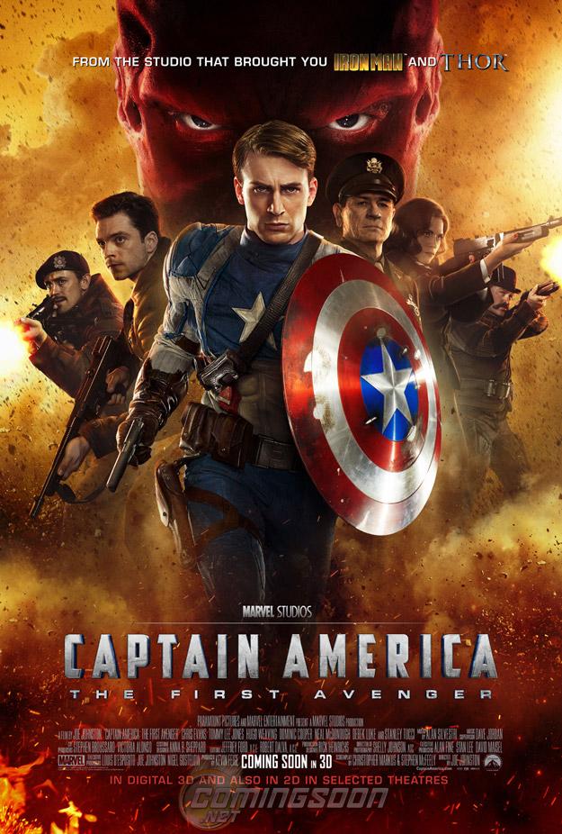 [Marvel] Captain America - First Avenger (17 août 2011) - Page 4 Cappyinternationalposter