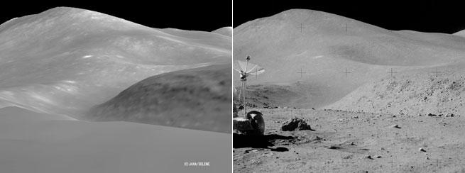 apollo - Nuova dettagliatissima immagine del sito di Apollo 11 Kaguya%20Apollo%2015