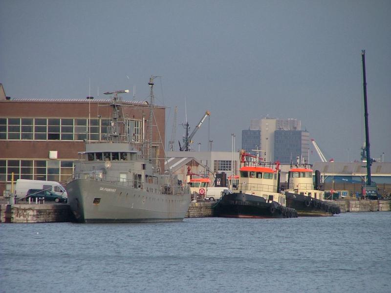 Force Navale Belge Comfour2002