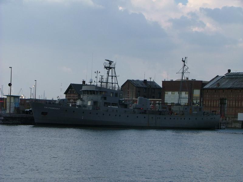 Force Navale Belge Comfour2004