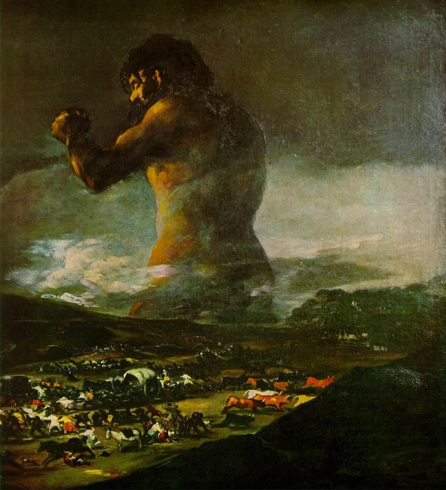 vos peintures coup-de-bisou Goya.colossus