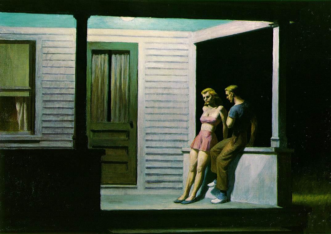 """Un Tableau De Hopper"", chanson du prochain album (spoiler) Hopper.summer-evening"