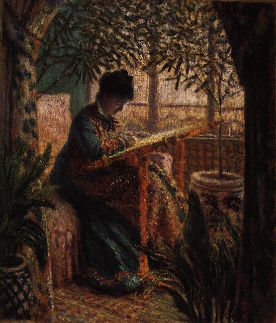 Klod Mone Monet.femme-metier