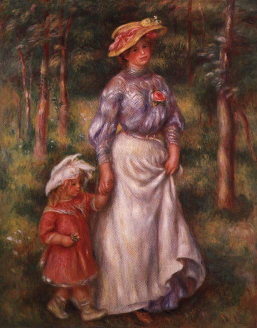 Ogist Renoar Renoir.promenade