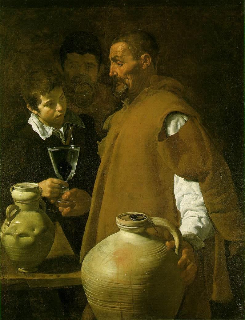 Galerie de Portraits - Page 3 Velazquez.waterseller-seville