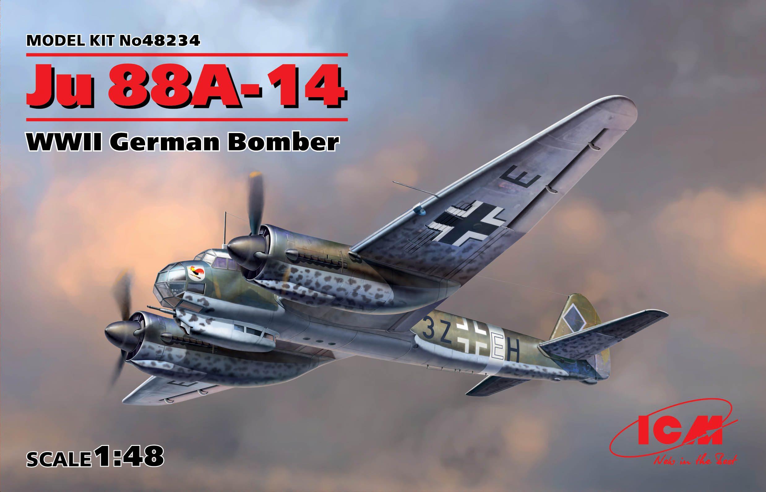 Обзор Ju-88A-14, 1/48, (ICM 48234). 1472624342_48234_box_web