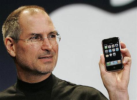 Muere Steve Jobs, el cofundador de la compañía de la manzana Steve-jobs-iphone