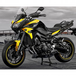 """Stickers """"Kenny Roberts"""" - 60th anniversary Kit-decoration-yellow-edition-yamaha-mt-09-tracer"""