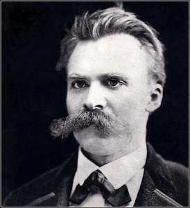 Life, the universe and everything Nietzsche-274x300