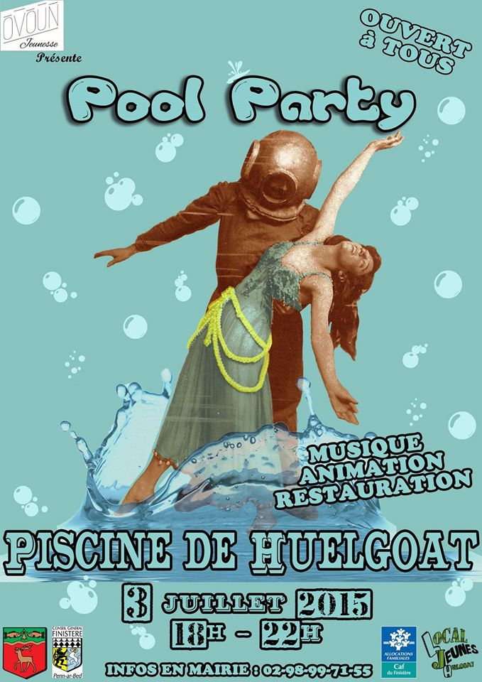Huelgoat Pool Party Pool_party