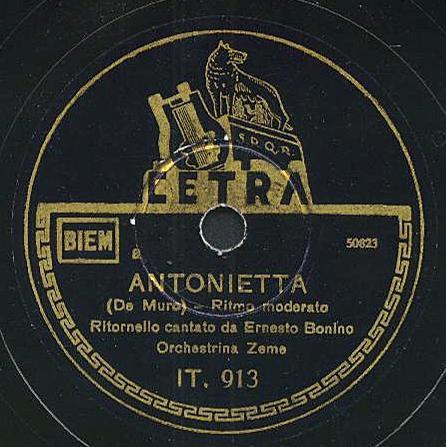 ERNESTO BONINO - Biografia, Canzoni, Video, Testi ANTONI3