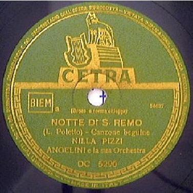FESTIVAL DI SANREMO 1951: I CANTANTI - LE CANZONI - I TESTI NOTTE%204