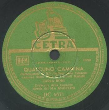 FESTIVAL DI SANREMO 1953: I CANTANTI - LE CANZONI - I TESTI QUALCU6