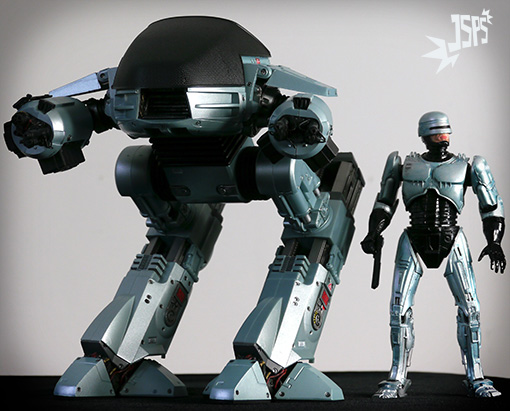 Les figurines - Cette dangereuse folie - Page 7 Robocop-ed-209-neca-vs-robocop