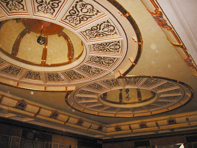 ديكورات جبس مغربي في السقف 47616
