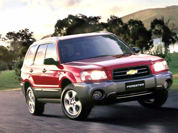 No wonder Subarus are so popular here Chevrolet-forester