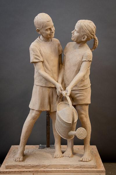 Skulpture od gline - Page 2 Clay-in-Progress