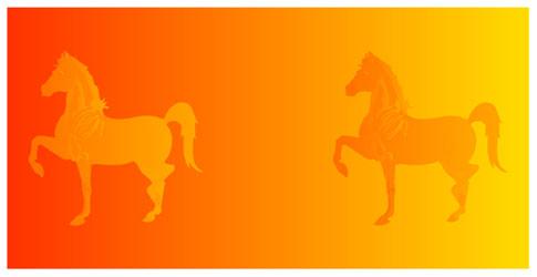 Increíbles ilusiones ópticas Colorhorses