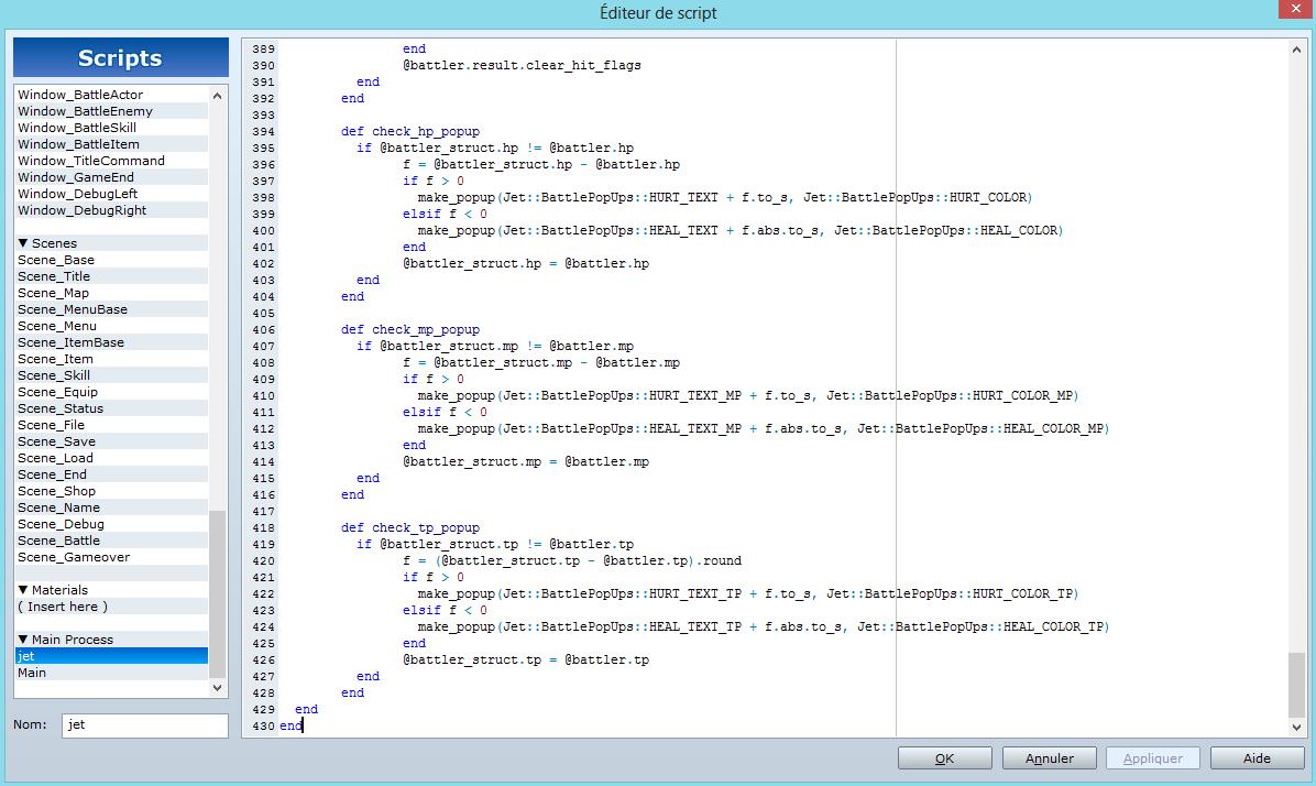 [Résolu]Problème script 137651504661704