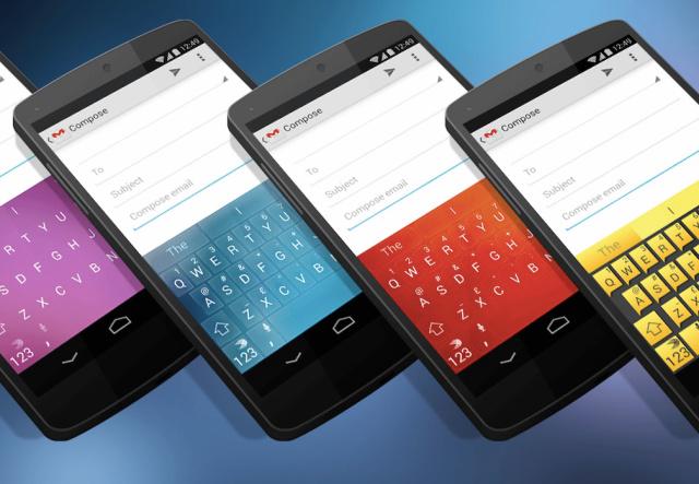 [APPLICATION ANDROID - SWIFTKEY] CLAVIER Android avec Thèmes personnalisés et gratuits de Swiftkey 142383691273476
