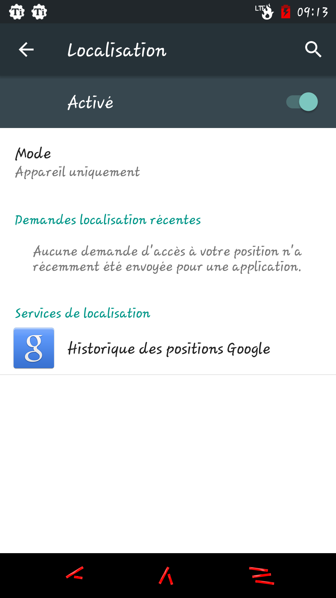 [VIE PRIVEE-PARAMETRES GOOGLE] Application Paramètres Google au microscope 14301245769525